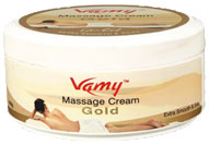 VAMY - Massage Cream Gold